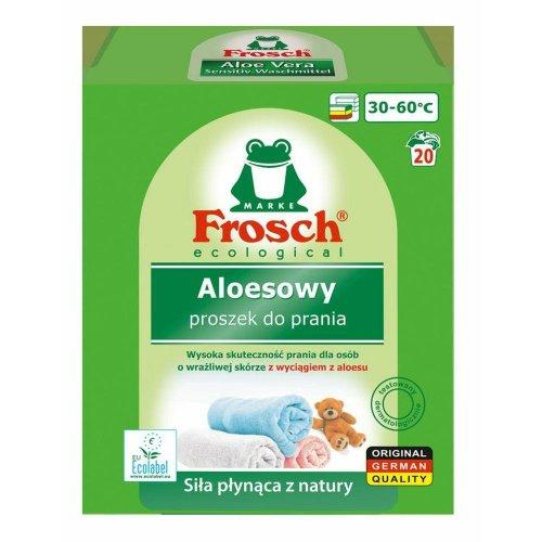 Proszek Do Prania Tkanin Kolorowych Aloesowy 1,35kg Frosch