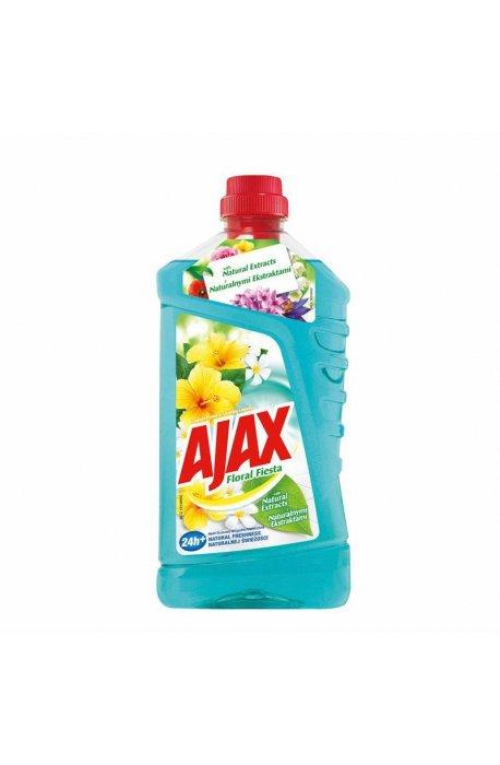 Środki uniwersalne - Płyn Uniwersalny Kwiat Laguny 1l Jasno Niebieski Ajax -