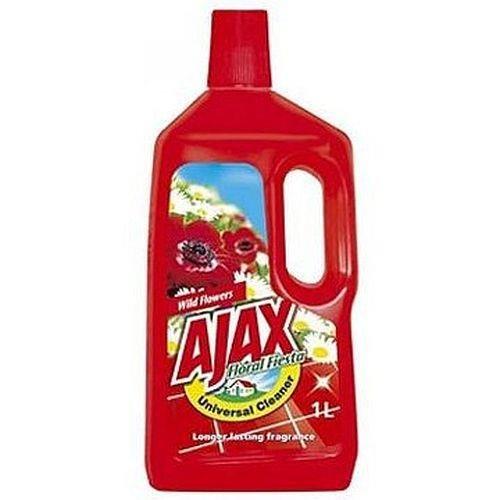 Płyn Uniwersalny Polne Kwiaty 1l Czerwony Ajax