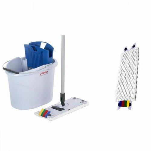 Zestaw do sprzątania podłóg Ultraspeed Mini + 5 wkładów Microlite Vileda Professional