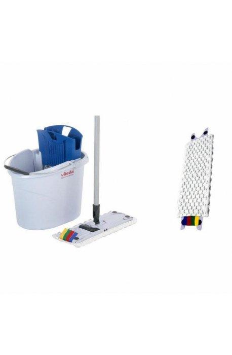Zestawy sprzątające - Zestaw do sprzątania podłóg Ultraspeed Mini + 5 wkładów Microlite Vileda Professional -