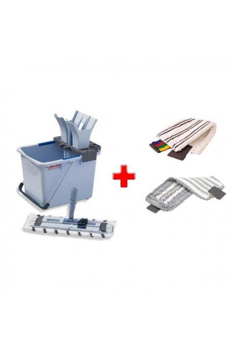 Zestawy sprzątające - Zestaw do sprzątania podłóg Ultraspeed Starter Kit 15l + 1 Wkład Microlite + 1 Wkład Trio Vileda P