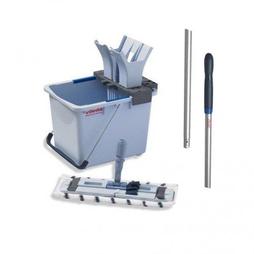 Vileda Zestaw Ultraspeed Starter Kit 15l 149090 + Kij Aluminiowy 145cm 116720