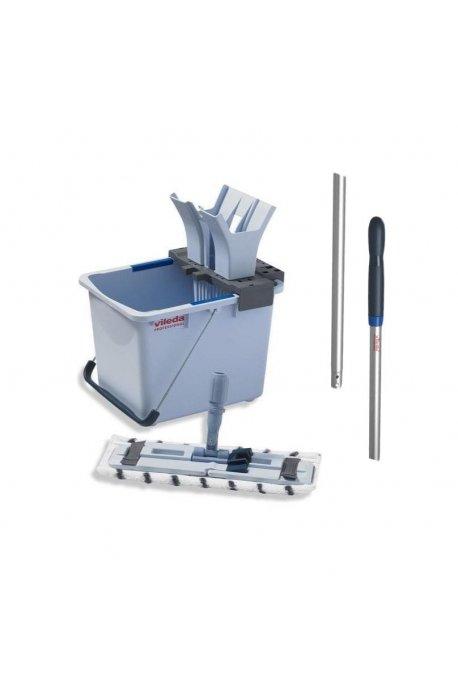Zestawy sprzątające - Zestaw do sprzątania podłóg Ultraspeed Starter Kit 15l 149090 + Kij Aluminiowy 145cm 116720  Viled