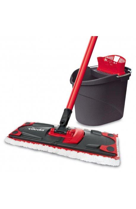 Zestawy sprzątające - Zestaw do sprzątania podłóg Ultramax Mop + Wiadro Vileda -