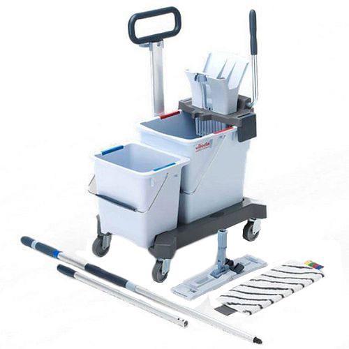 Wózek dwuwiaderkowy do sprzątania Ultraspeed Pro Ready to Go 147207 Vileda Professional
