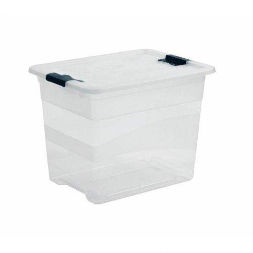 Pojemnik Kristallbox 24L Transparentny Keeeper