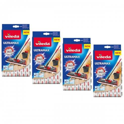 Zestaw do sprzątania podłóg Ultramax Wkład 4 szt 155747 Vileda