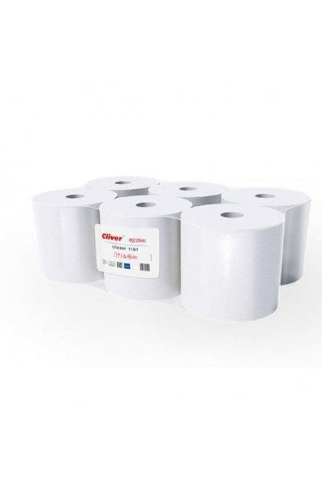 Papiery, ręczniki kuchenne - Ręcznik Midi R130/1 Extra Biały Standard Cliver -