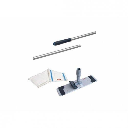 Zestaw Uchwyt do mopa Combi Speed 40cm +3 x Wkład do mopa płaskiego Microspeed + Kij 145cm Vileda Professional