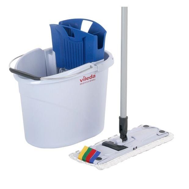 Zestawy sprzątające - Vileda Ultraspeed Mini Starter Kit Wiadro + Mop 133414 Vileda Professional -