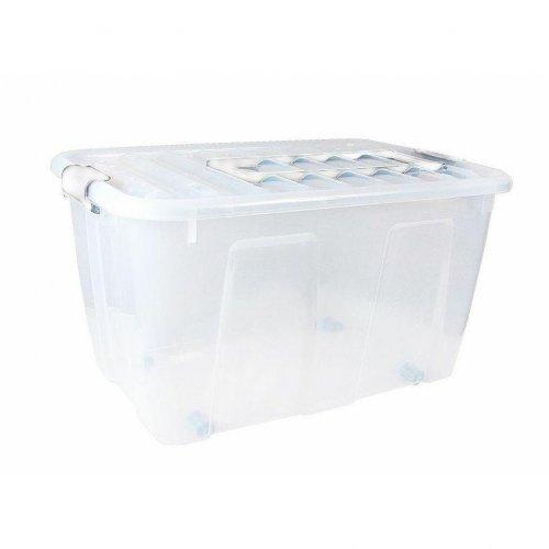 Pojemnik Z Rączką Home Box 86l Roller 2227 Plast Team