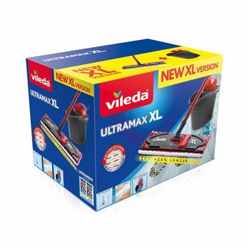 Zestaw Mop XL + Wiadro 160932  W Kartonie Ultramax Box Vileda