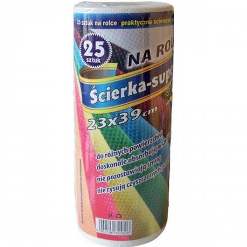 Ścierka Na Rolce A25 23/39 Żółta 5826 P
