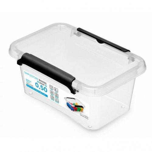 Pojemnik Prostokątny 0,5l Simple Box 1122