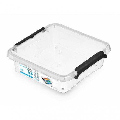 Pojemnik Kwadratowy 0,6l Simple Box 1162