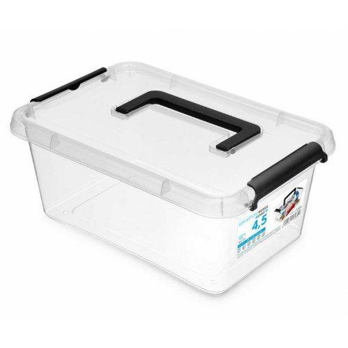 Pojemnik Prostokątny Z Rączką 4,5l Simple Box 1323