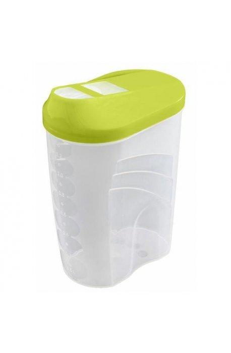 Pojemniki do żywności - Branq Dozownik Easy Way 0,7l 8222 Zielony -