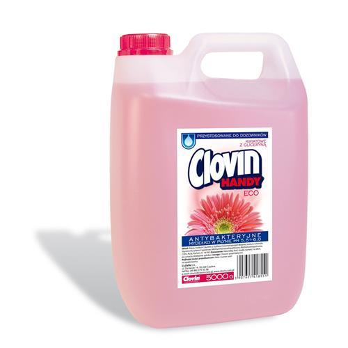 Mydło antybakteryjne 5l Kwiatowe Clovin