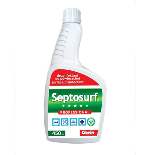 Septosurf 450ml Płyn Do Dezynfekcji Clovin