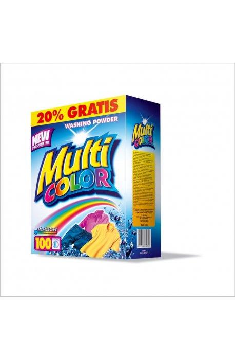Proszki i pojemniki do prania - Proszek Multicolor 10kg Karton Clovin -