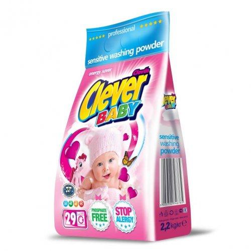 Proszek Clever Baby 2,2kg Folia Clovin