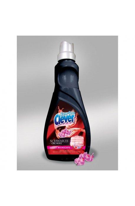 Żele, płyny do prania i płukania - Koncentrat Do Płukania 1l Herr Schwarze Orchidee  Clovin -