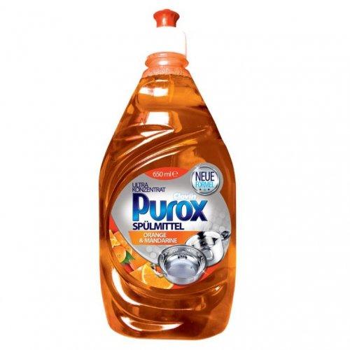 Purox Koncentrat Do Naczyń Orange 650ml Clovin