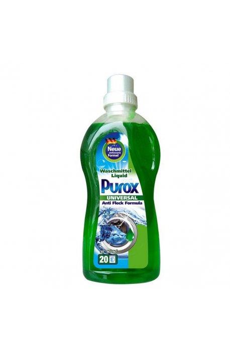 Żele, płyny do prania i płukania - Purox żel do prania universal 1l Clovin -