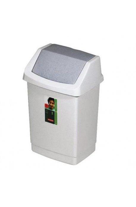 Kosze uchylne - Curver Kosz Na Śmieci Uchylny Click-It 15l Granit 175924 -