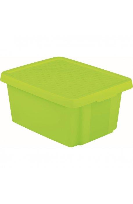 Pojemniki uniwersalne - Curver Pojemnik Essentials 16l Z Pokrywą Zielony 225386  -