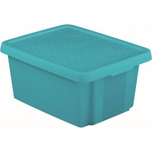 Curver Pojemnik Essentials 26l Z Pokrywą Niebieski 225451