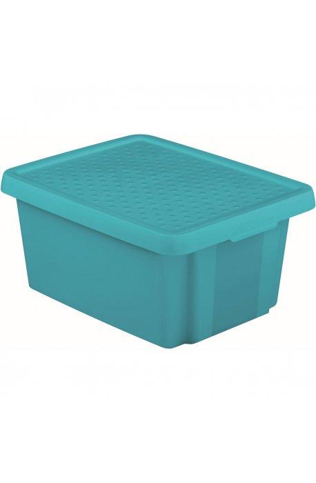 Pojemniki uniwersalne - Curver Pojemnik Essentials 26l Z Pokrywą Niebieski 225451  -