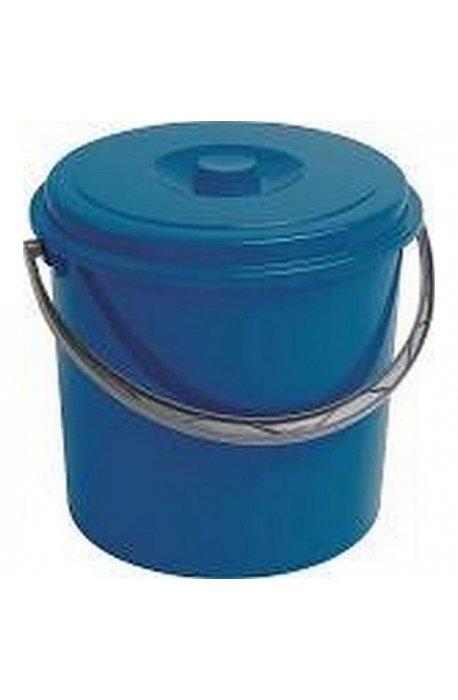 Wiadra - Curver Wiadro 12l Z Pokrywą Niebieskie 235239 -