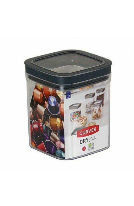 Pojemniki do żywności - Curver Pojemnik Dry Cube 1,3l 234003  -