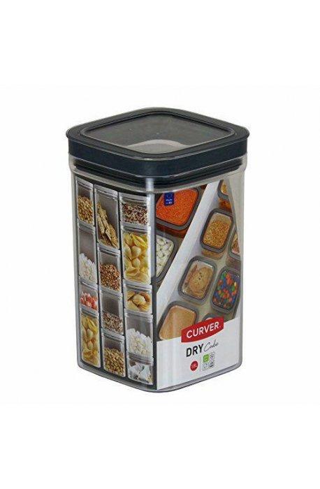 Pojemniki do żywności - Curver Pojemnik Dry Cube 1,8l 234001  -