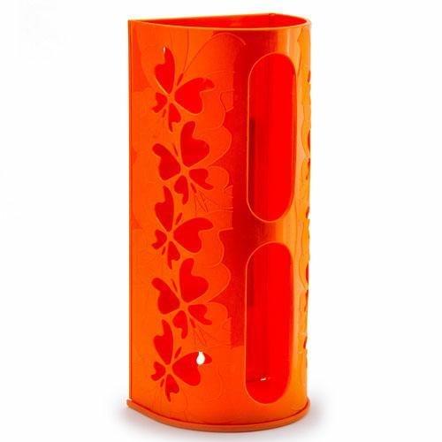Pojemnik Na Torby Plastikowe Reklamówki Pomarańczowy