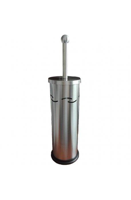 Szczotki i zestawy do WC - Stojąca Szczotka Do Wc Tuba E16 Satyna F  -