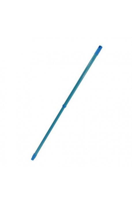 Drążki, kije - Kij drążek teleskopowy 120cm niebieski F  -