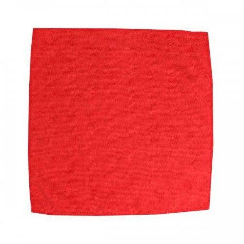 Ścierka z mikrowłókien 32x32 czerwona F