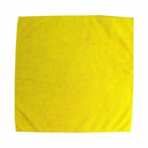 Ścierka z mikrowłókien 32x32 żółta F