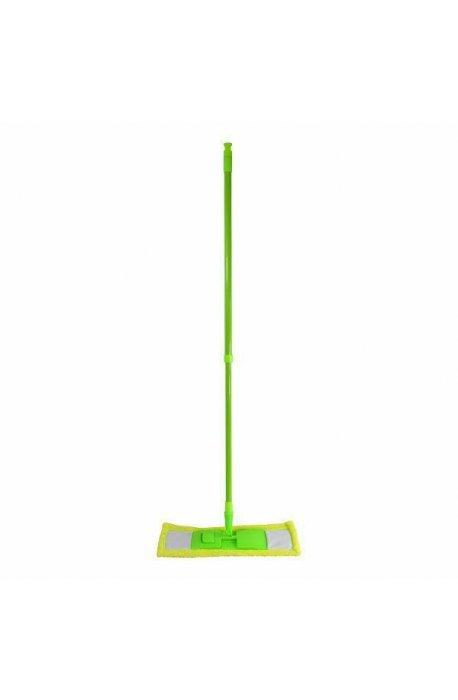 Mopy z drążkiem - Mop Hit Micro Zielony Z Drążkiem Teleskopowym F -