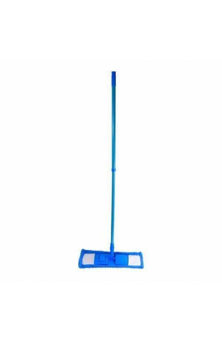 Mopy z drążkiem - Mop Hit Micro Niebieski Z Drążkiem Teleskopowym F -