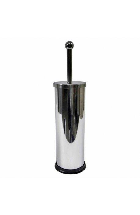 Szczotki i zestawy do WC - Stojąca Szczotka Do Wc E01 Srebrna Połysk F -