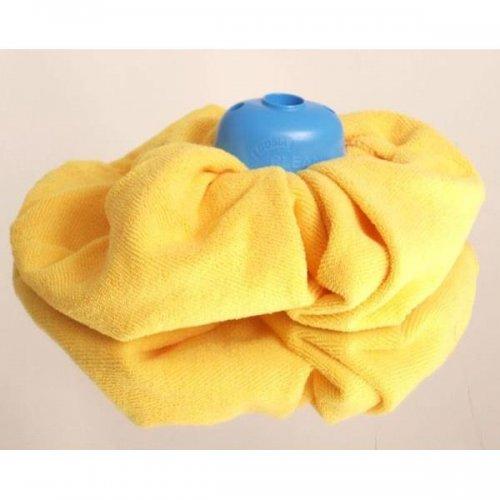 Gosia Wkład Mikrofibra Żółta Sukienka 4867