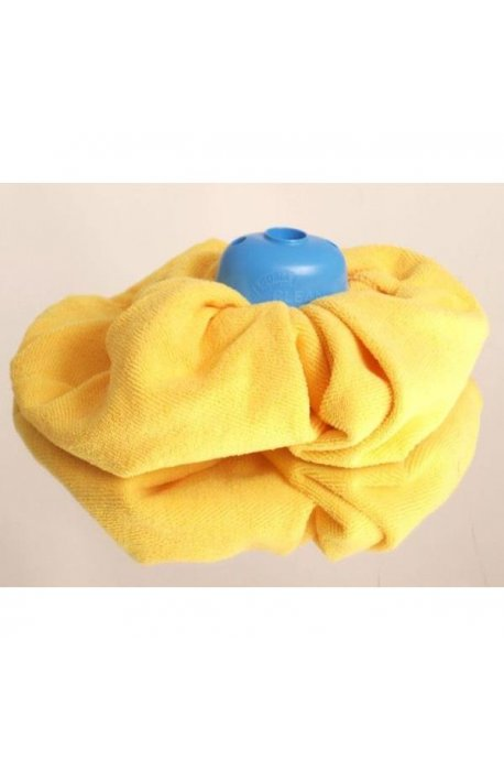 Wkłady zapasy do mopów - Gosia Wkład Mikrofibra Żółta Sukienka 4867 -