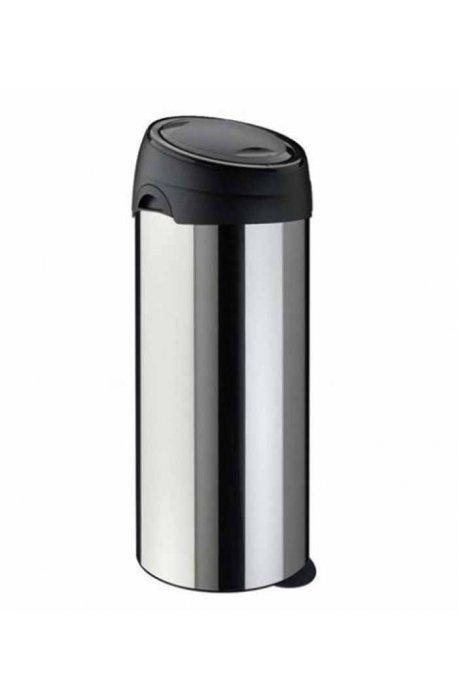 Kosze do segregacji śmieci - Kosz na śmieci śmieci Soft Touch 40l stal matowy Meliconi -