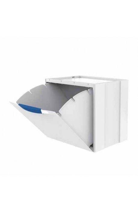 Kosze do segregacji śmieci - Kosz na śmieci Ecocubes 22l segregacja biało-niebieski Meliconi -