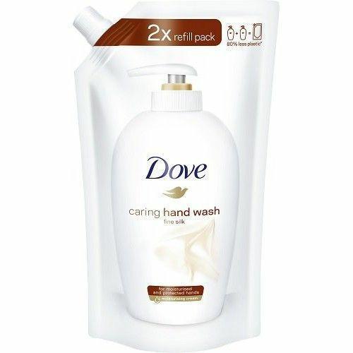 Mydło W Płynie Dove Zapas 500ml Fine Silk
