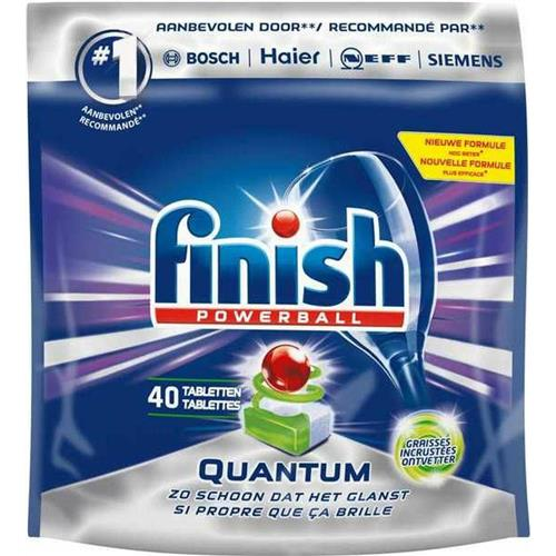 Finish Powerball Tabletki Do Zmywarki Quantum Max 40szt